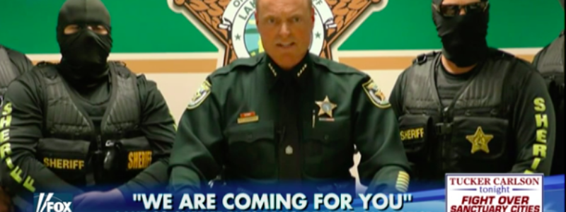 Florida Sheriff, ISIS, Drug Dealers, Heroin