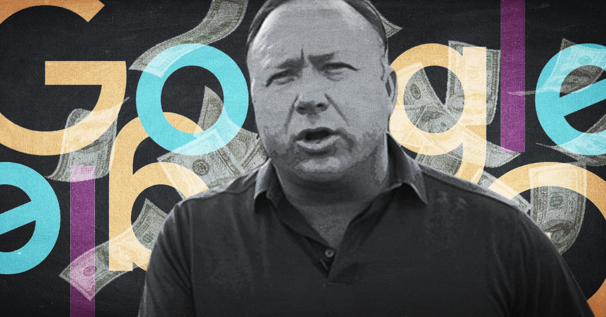 Google Hired Contractors to De-List InfoWars from Google Search Results, Alex Jones