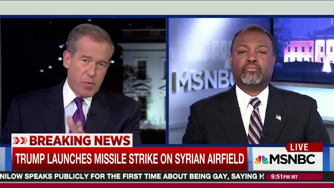Brian Williams Tells the Truth About Syria