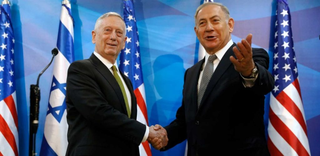 Netanyahu Praises Trump's Strong Leadership, James Mattis