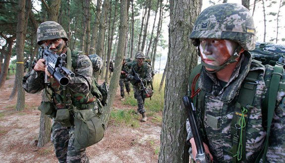 South Korea Commander Orders Troops, North Korea