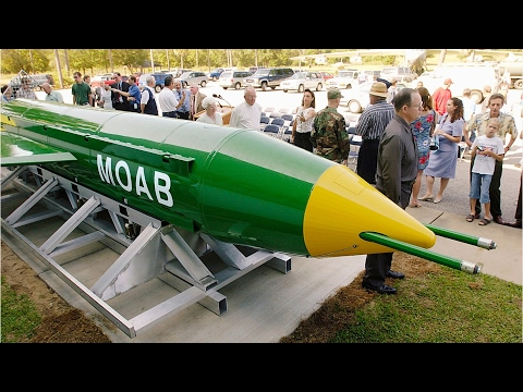 what is the moab, afghanistan, largest non-nuclear bomb