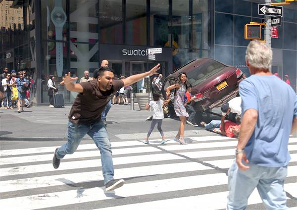 Proof the NYC Times Square Crash Was Not an Accident