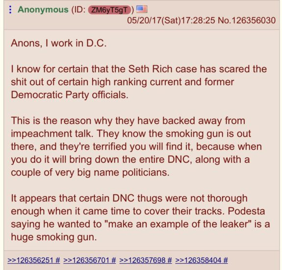 DNC in 'Complete Panic'