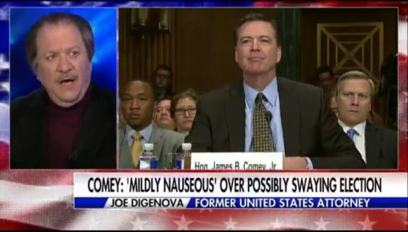 Former US Attorney Says Director Comey Should be Fired!