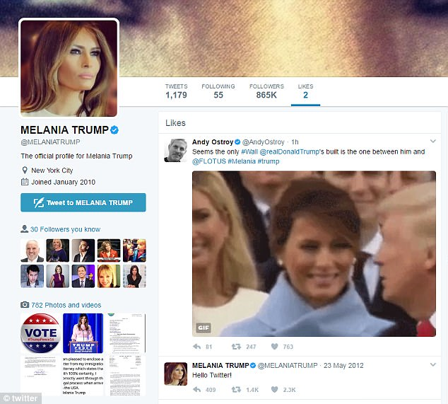Did Melania 'Like' an Anti-Trump Tweet