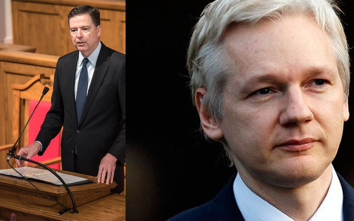 Wikileaks Offers James Comey a Job