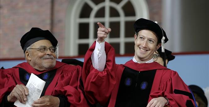 Harvard Commencement Features Mark Zuckerberg Arguing For 'Universal Income'
