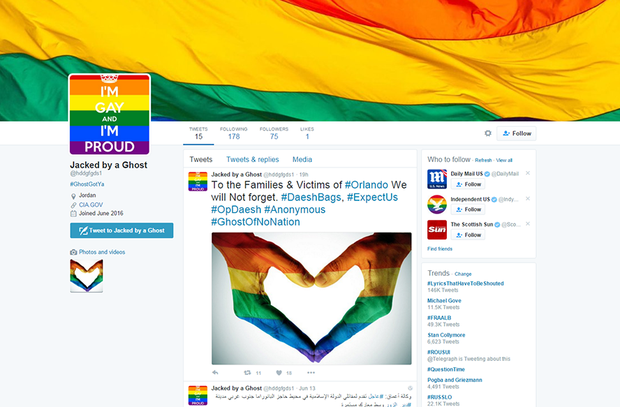 250 ISIS Twitter Accounts Hacked With Gay Porn