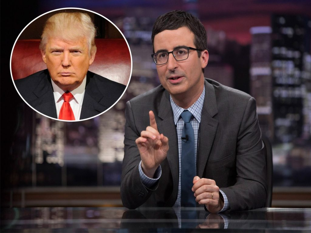 John Oliver Blasts Trump's Tax Cuts