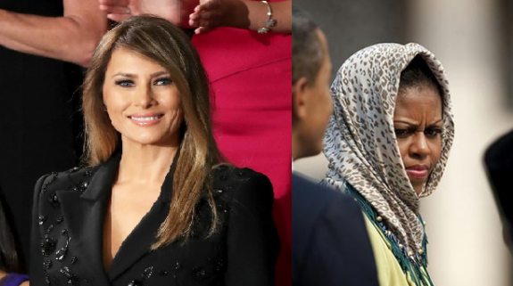 Melania Trump Will Not Wear a Head Scarf in Saudi Arabia