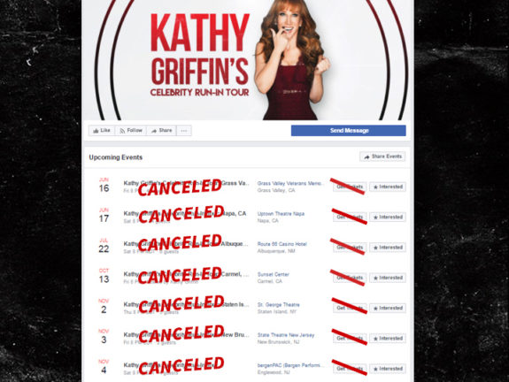 Kathy Griffin is Finished