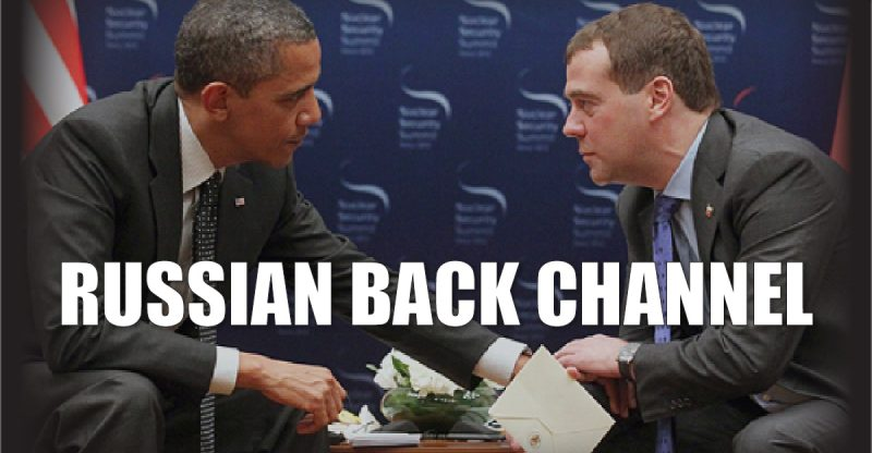 Obama Administration Used 'Back Channel' to Communicate with Russia
