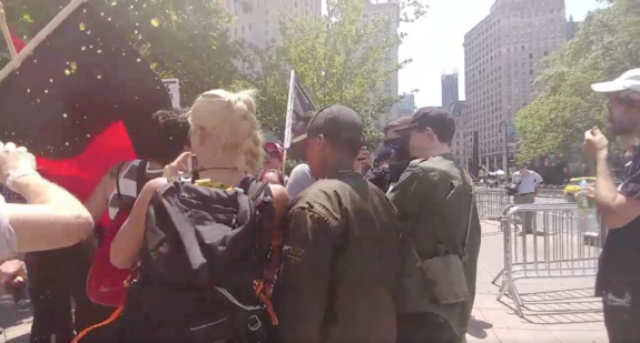 Antifa Thugs Surround Smoking Hot Conservative Lauren Southern