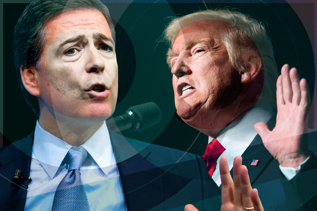 President Trump May Live Tweet the Comey Hearing