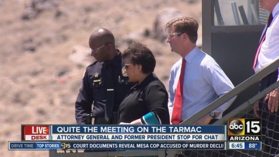 NSA Refuses to Release Bill Clinton-Loretta Lynch Tarmac Transcript