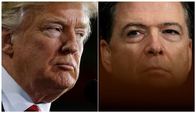 Former FBI Director James Comey, President Trump, Testimony for Senate