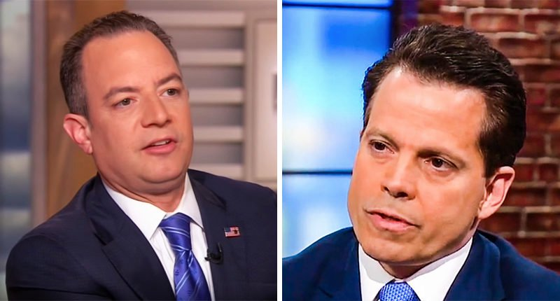 Scaramucci is Not Playing, Reince Priebus, FBI Leaks, Financial discolsures