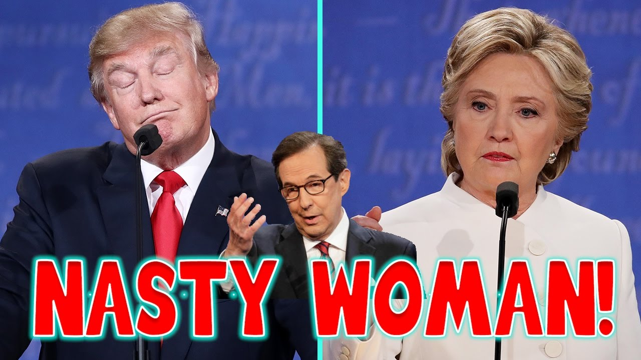 Hillary Clinton Finally Gets It, Nasty woman t-shirts