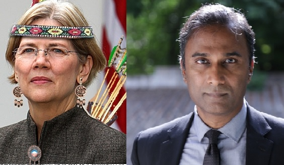Real Indian vs Fake Indian, Elizabeth Warren, V.A. Shiva Ayyadurai