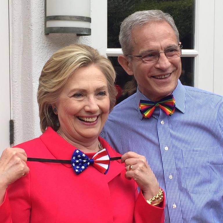 Hillary Clinton and Ed Buck, Democrat donor, meth overdose
