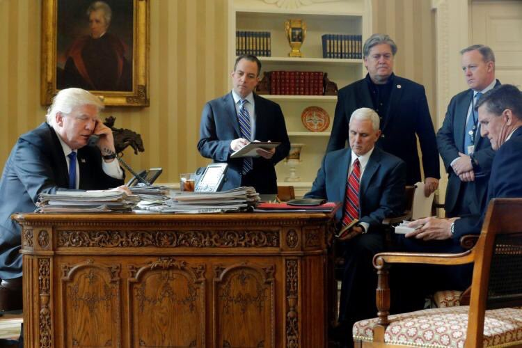 Pence leading coup