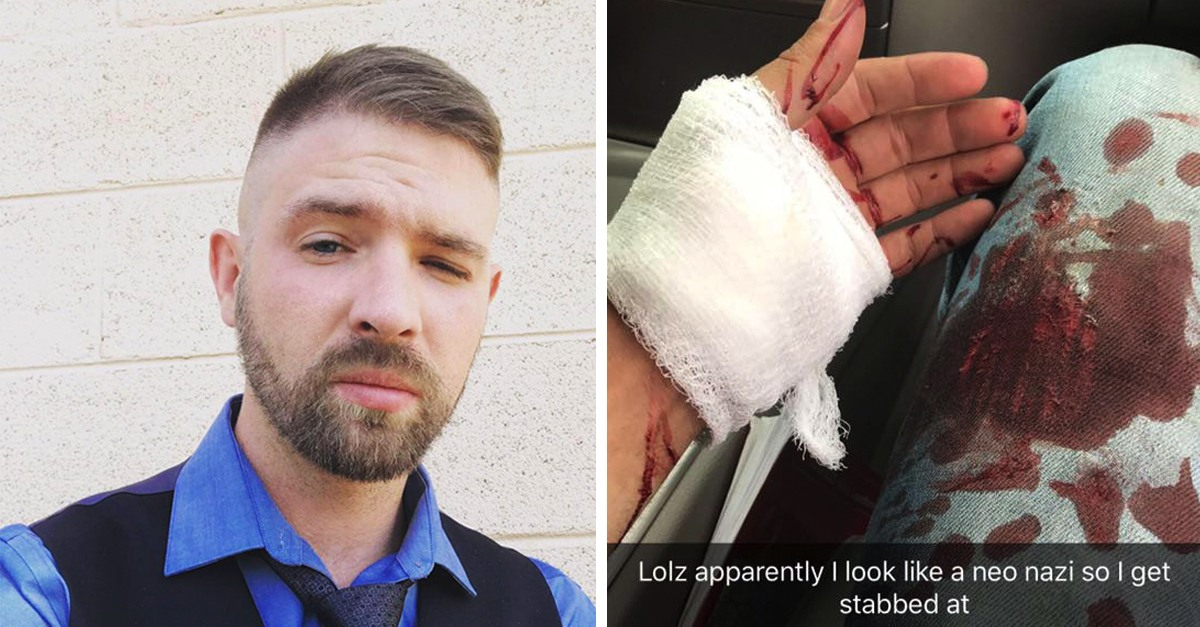 Navy Man Stabbed After Being Mistaken For a Nazi Because Of His Haircut