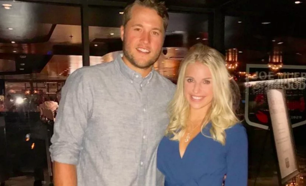 Matthew Stafford's wife