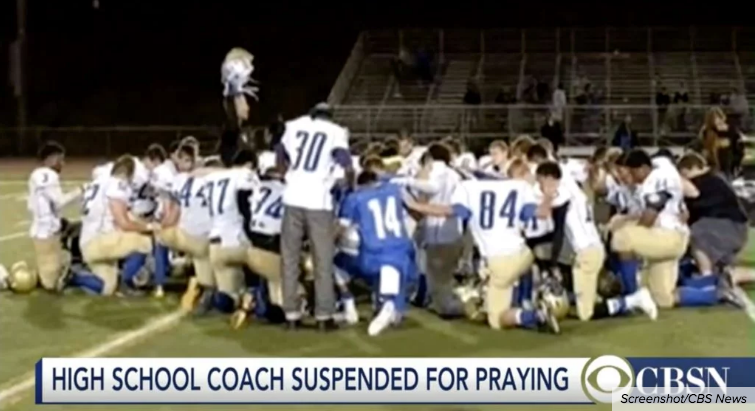 Federal Court Bans High School Football Coach From Praying On The Field