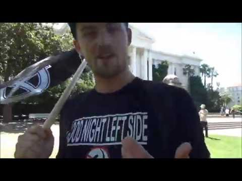 """Antifa Protester Claims Violence Against the Right is """"Not a Crime"""" - VIDEO"""