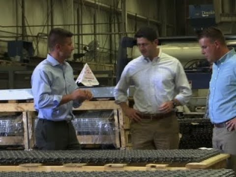 Factory Worker EXPLODES on Speaker Paul Ryan