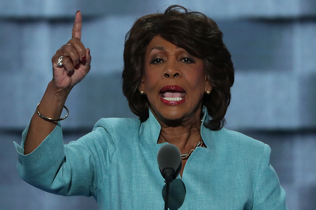 Insane Auntie Maxine Waters