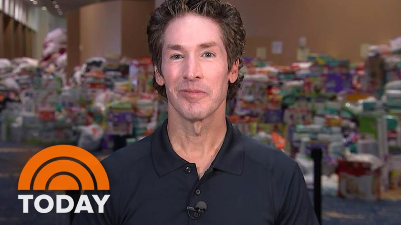 Joel Osteen responds, today show