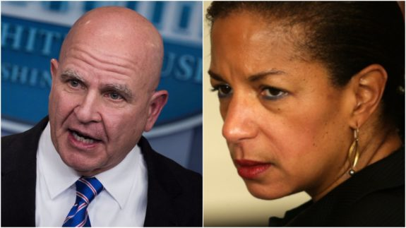 H.R. McMaster, President Trump, National security advisor, top secret clearance, Susan Rice