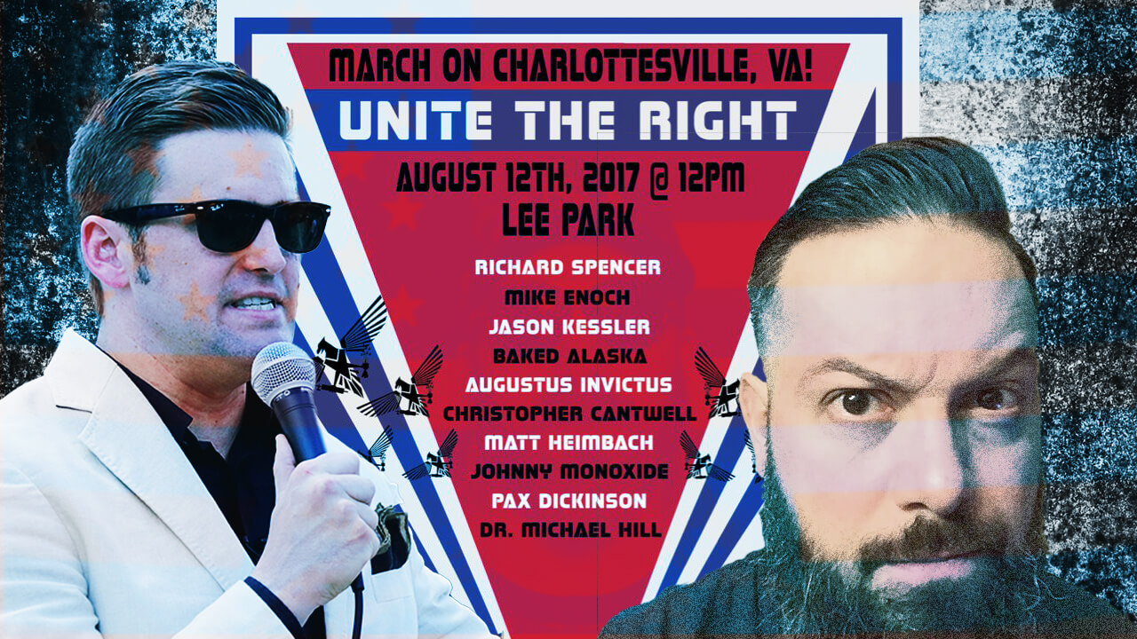 Unite The Right Organizer, Jason Kessler