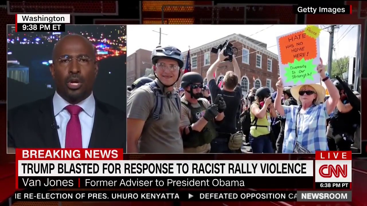Van Jones, White Nationalism, President Trump