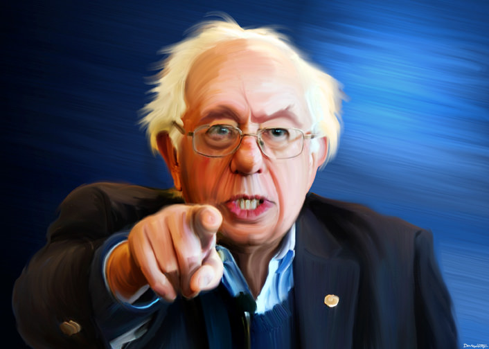 The Greedy Socialist - Bernie Sanders Owes A Disputed $450,00 to Cities Across The United States