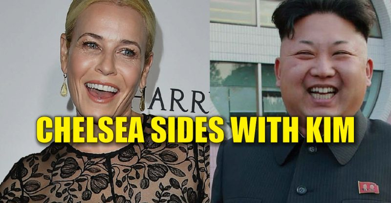 Chelsea Handler Proposes a Trade: Donald Trump for Kim Jong-Un