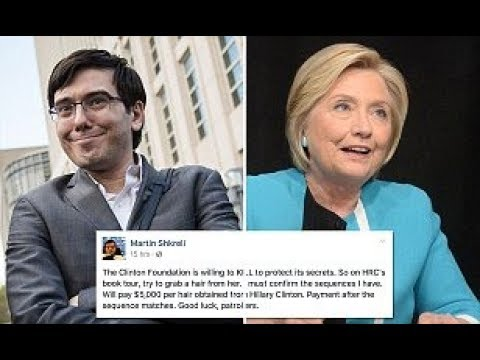 Martin Shkreli Jailed For Making Joke About Hillary's Hair on Facebook