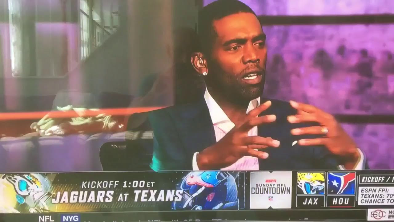 Randy Moss Destroys 'Loser' Protesters on NFL Countdown