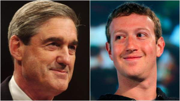 Mark Zuckerberg Gave Robert Mueller Data
