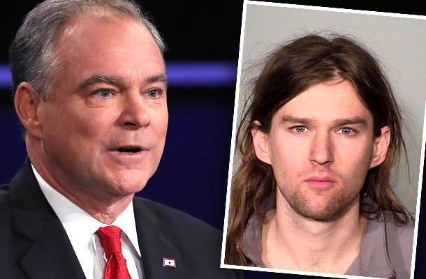 Almost VP Tim Kaine's Son