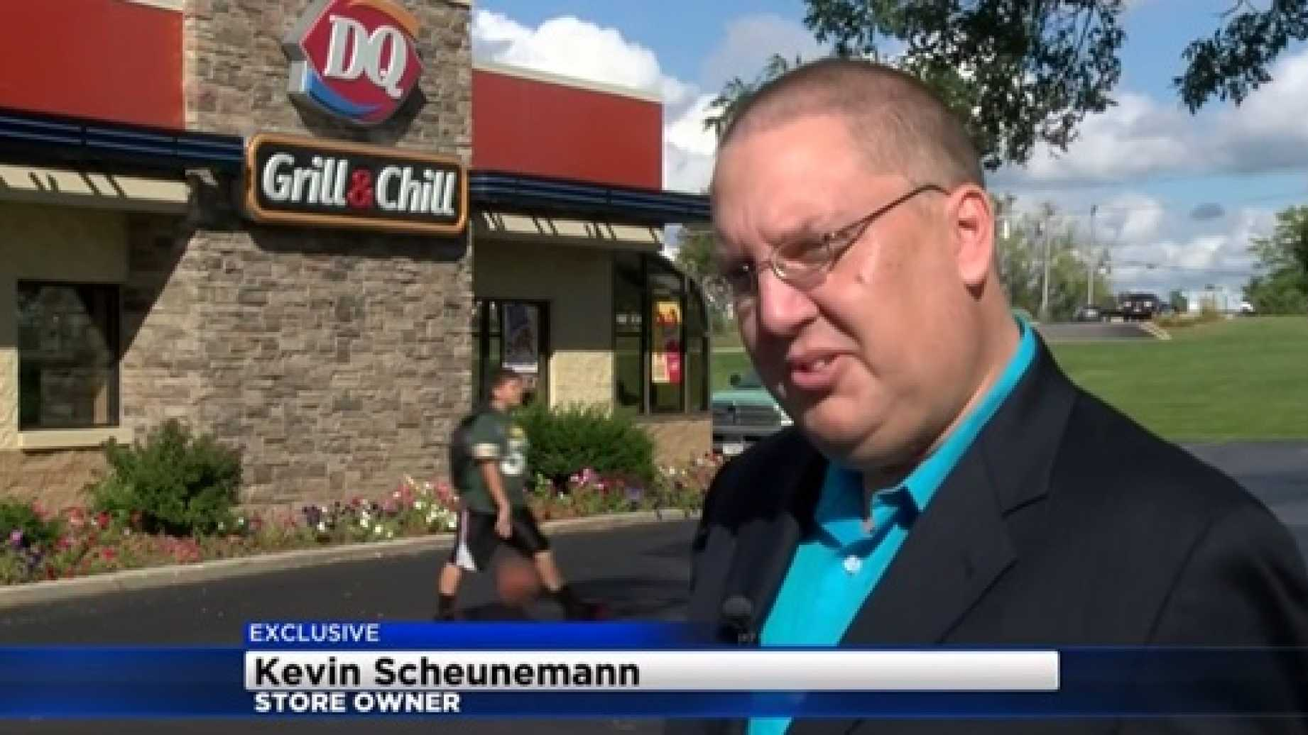 Dairy Queen Owner Hangs Very 'Politically Incorrect Sign'