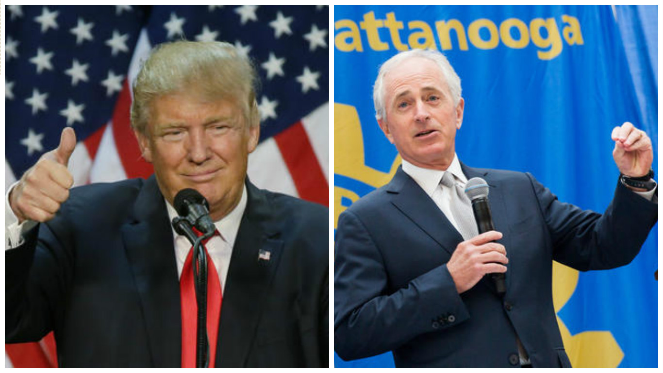 Trump Rips Corker Again, Elected dog catcher