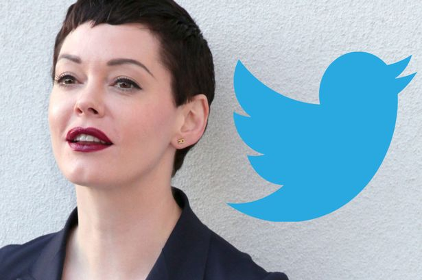 Alleged Harvey Weinstein Victim Rose McGowan Banned From Twitter