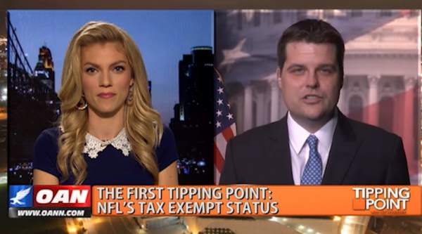 Republican Lawmaker Pushing For End of NFL Tax Exemptions