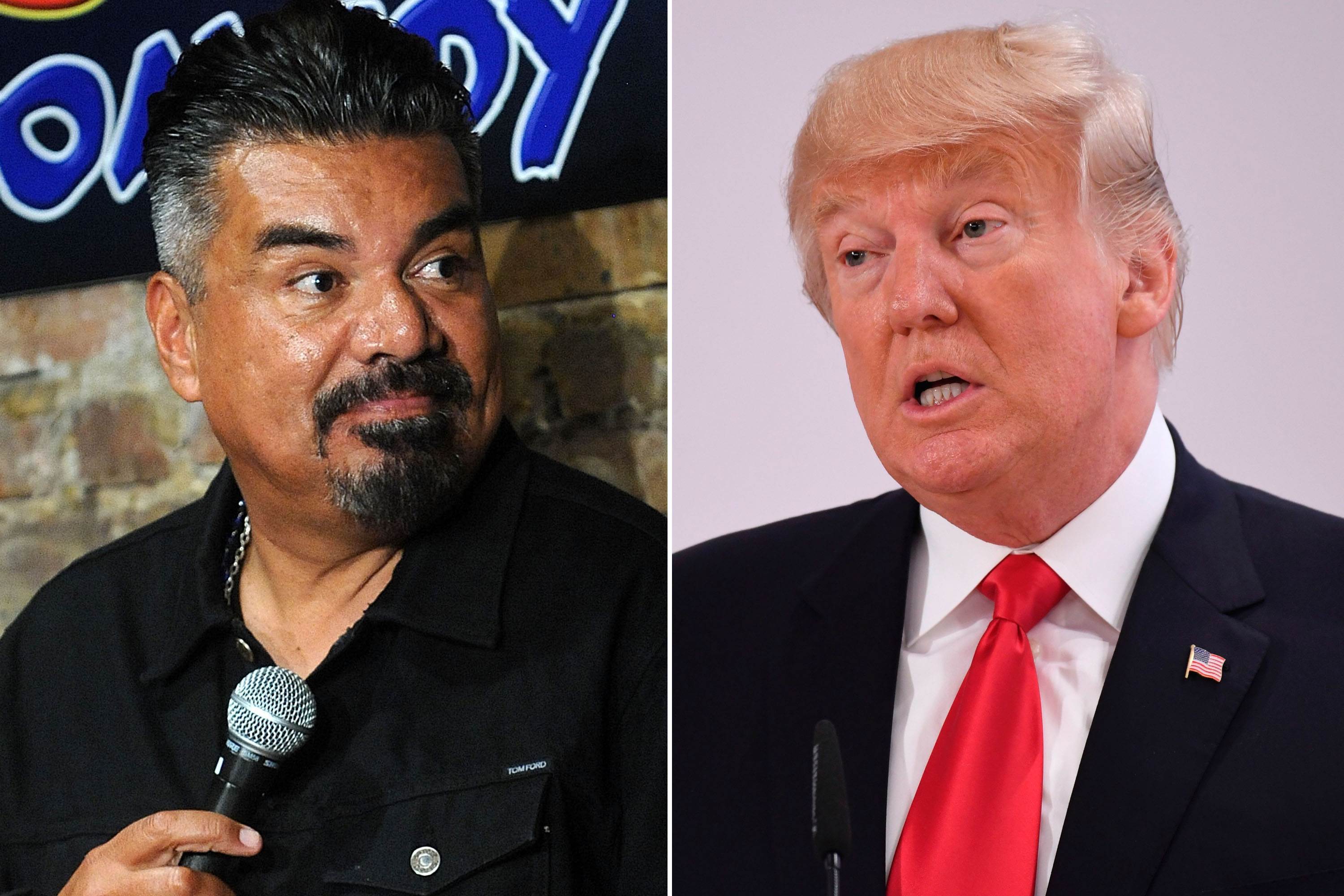 Hollywood Comedian Bashes Trump, George Lopez