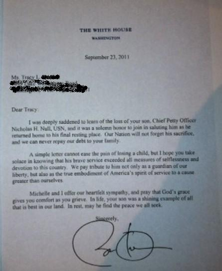 Trump was right, obama fake navy seal letter