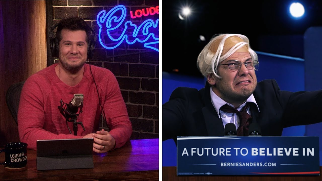 Steven Crowder Destroys Bernie Sanders