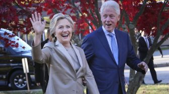 Hillary Clinton Brags That Her Husband 'Didn't Tweet About' Challenges